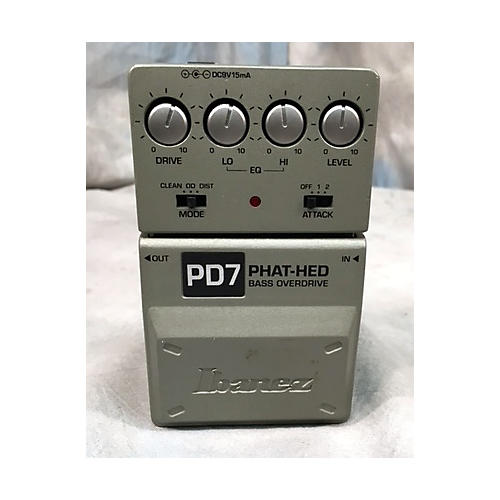 Ibanez PD7 BASS OVERDRIVE Effect Pedal-thumbnail