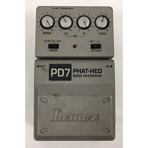 Pre-owned Ibanez PD7 Bass Effect Pedal by Ibanez