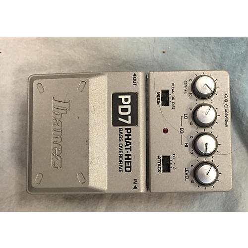 Ibanez PD7 PHAT HEAD BASS OVERDRIVE Bass Effect Pedal