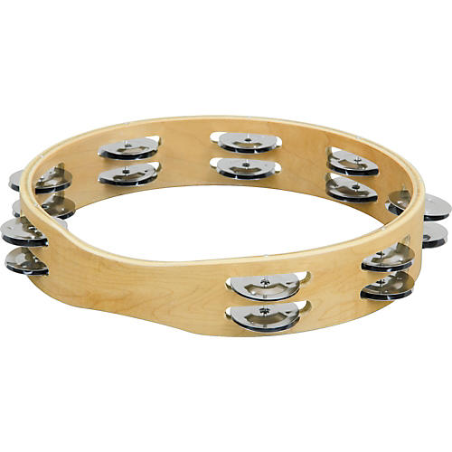 Sound Percussion Labs PDM1016M-R Double Row Tambourine-thumbnail