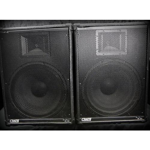 Crate PE-15H Pair Unpowered Speaker