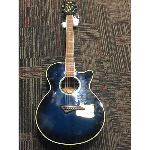 Dean PEBB Performer CE Mini Jumbo Acoustic Electric Guitar-thumbnail