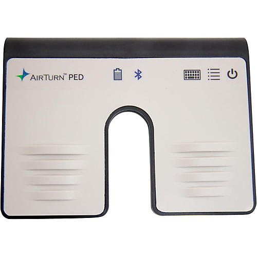 AirTurn PED Hands-Free Dual Footswitch Controller for Bluetooth Smart Equipped Tablets & Computers-thumbnail