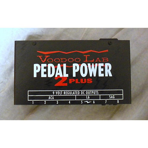 Voodoo Lab PEDAL POWER 2 PLUS Black Power Supply-thumbnail