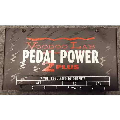 Voodoo Lab PEDAL POWER 2 PLUS Power Supply-thumbnail