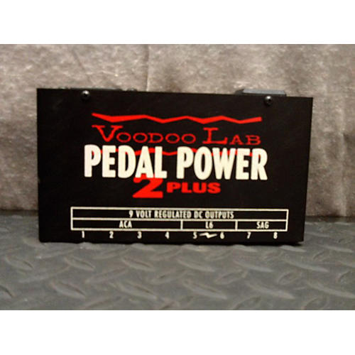 used voodoo lab pedal power 2 plus power supply guitar center. Black Bedroom Furniture Sets. Home Design Ideas