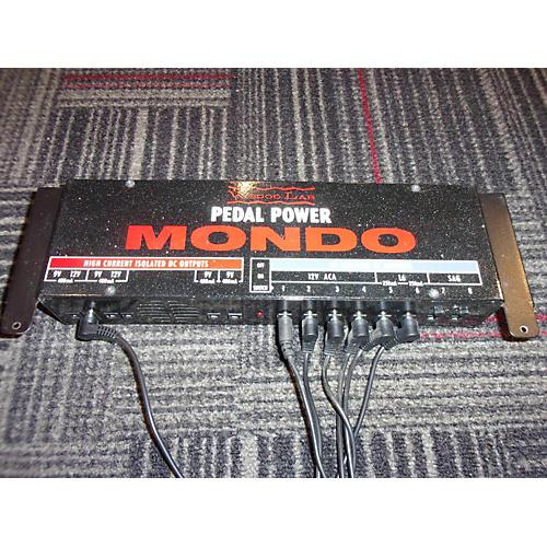 used voodoo lab pedal power mondo power supply guitar center. Black Bedroom Furniture Sets. Home Design Ideas