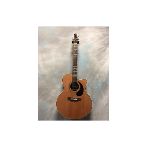 Seagull PERFORMER CUTAWAY MINI JUMBO Acoustic Electric Guitar-thumbnail