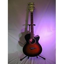 Dean PETSB Performance CE Mini Jumbo Acoustic Electric Guitar