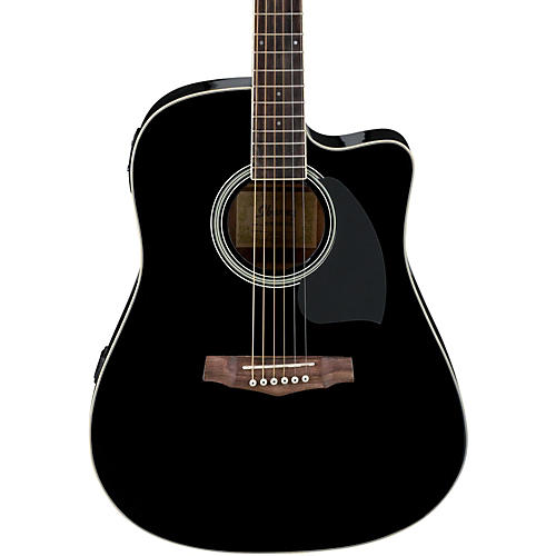 Ibanez PF Series PF15ECE Dreadnought Cutaway Acoustic-Electric Cutaway Guitar-thumbnail