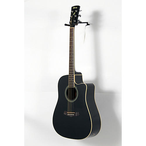 Ibanez PF Series PF15ECE Dreadnought Cutaway Acoustic-Electric Cutaway Guitar-thumbnail