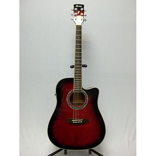 Ibanez PF28ECE Acoustic Electric Guitar-thumbnail