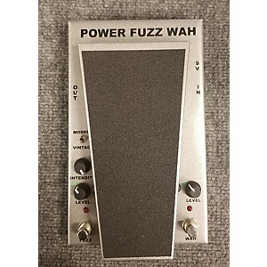 Pre-owned Morley PFW CLIFF BURTON POWER FUZZ WAH Effect Pedal