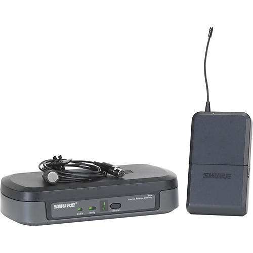 Shure PG14/PG185 Performance Gear Wireless Lavalier Microphone System-thumbnail