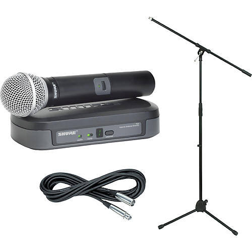 Shure PG24/PG58 Handheld Wireless Package Ch H7-thumbnail