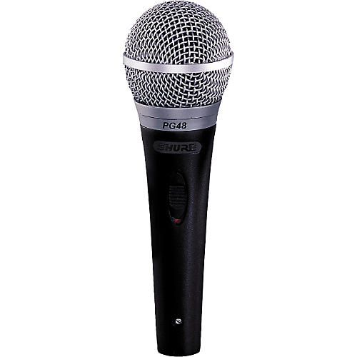 Shure PG48-XLR Microphone with Switch-thumbnail