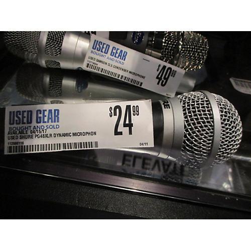 Shure PG48XLR Dynamic Microphone
