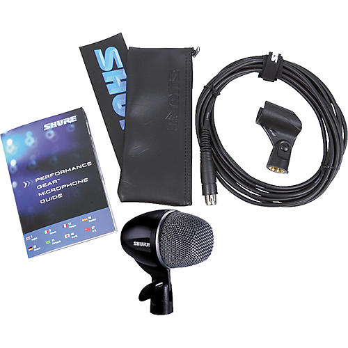 Shure PG52-XLR Dynamic Mic with XLR Cable