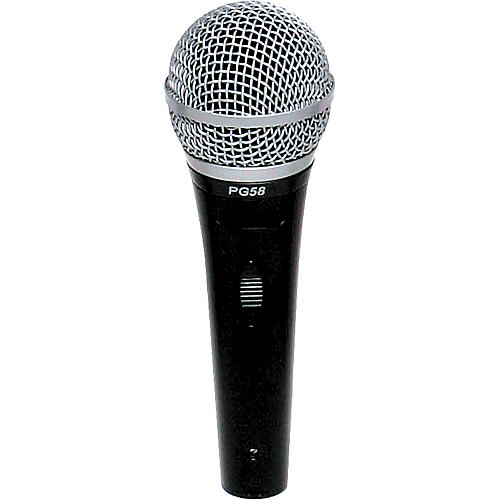 Shure PG58-LC Cardioid Dynamic Handheld Microphone