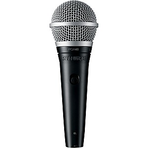 Shure PGA48-XLR Vocal Microphone with XLR Cable by Shure