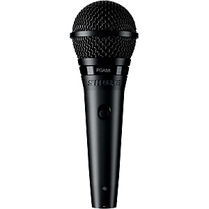 Shure PGA58-QTR Dynamic Vocal Microphone with XLR to 1/4 inch Cable
