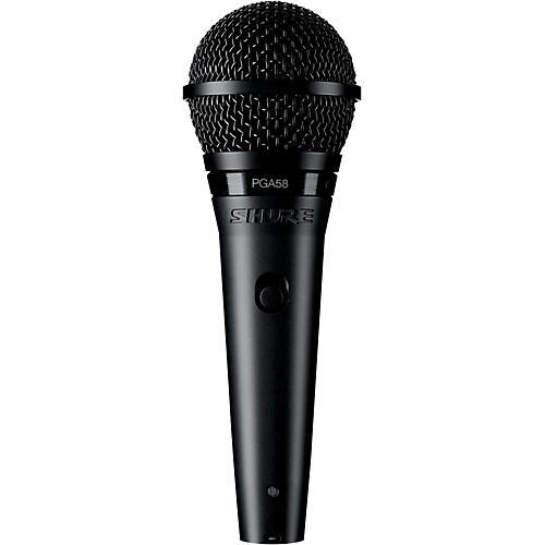 Shure PGA58-XLR Dynamic Vocal Microphone with XLR Cable