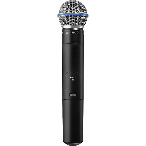 Shure PGX2/BETA58 Wireless Handheld Transmitter