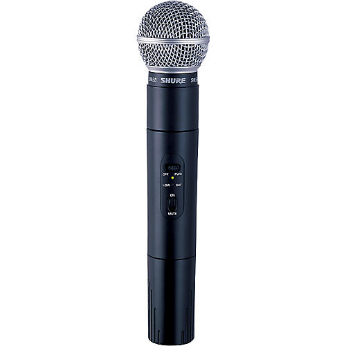 Shure PGX2/SM58 Wireless Handheld Transmitter J6