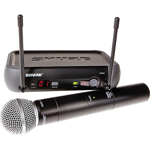 Shure PGX24/SM58 Handheld Wireless System Band L5