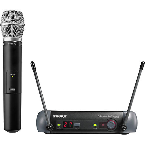 Shure PGX24/SM86 Handheld Wireless System Band H6