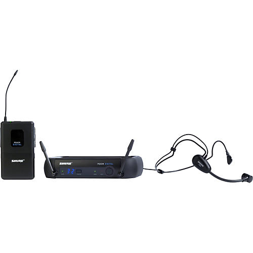 Shure PGXD14/PG30 Digital Wireless System with PG30 Headset Mic-thumbnail