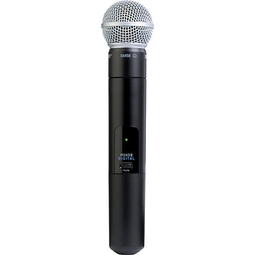 Shure PGXD2/SM58 Handheld Transmitter with SM58 Mic-thumbnail