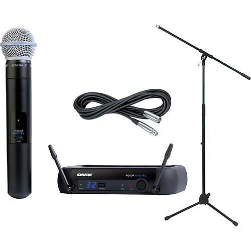 Shure Pgxd24 Beta58a Handheld Wireless Package Guitar Center