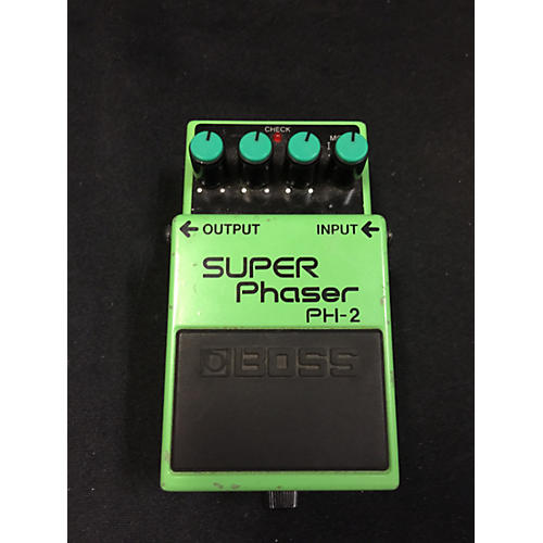 Boss PH2 Super Phaser Emerald Green Effect Pedal