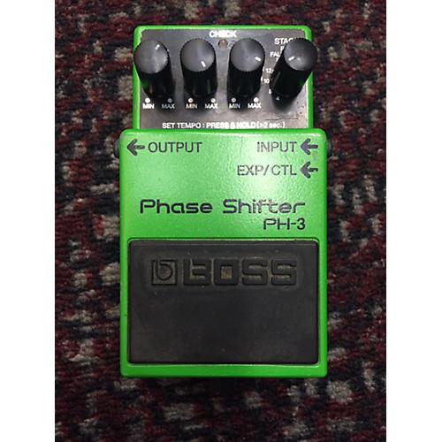 Boss PH3 Phase Shifter Green Effect Pedal-thumbnail