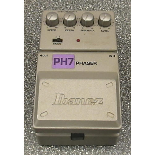 Ibanez PH7 Phaser Effect Pedal-thumbnail