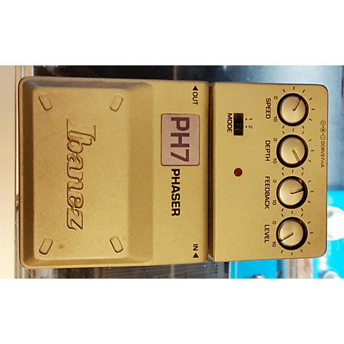 Ibanez PH7 Phaser Effect Pedal