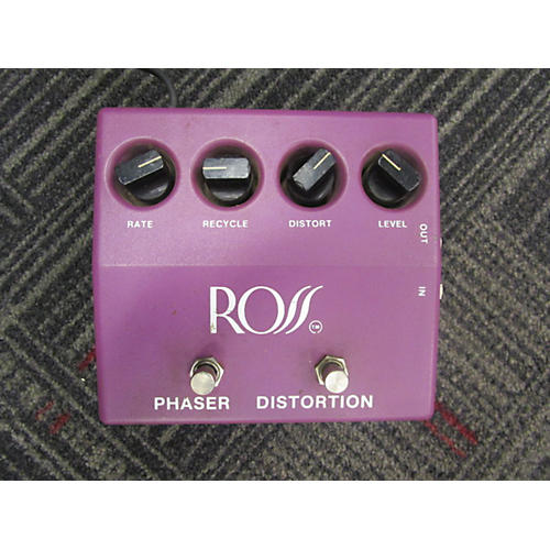 Ross PHASER DISTORTION Effect Pedal