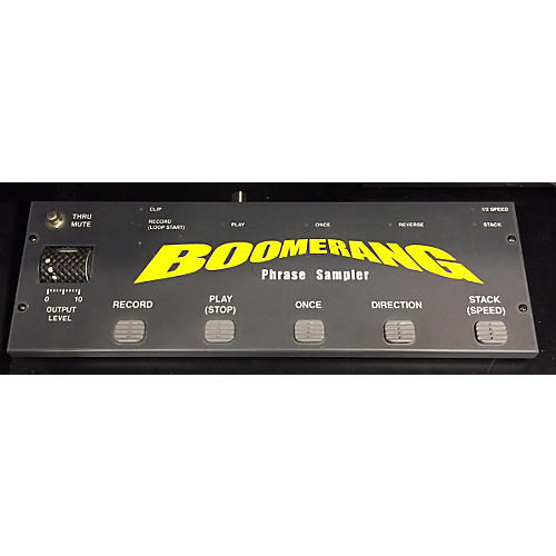 Boomerang PHRASE SAMPLER Pedal-thumbnail