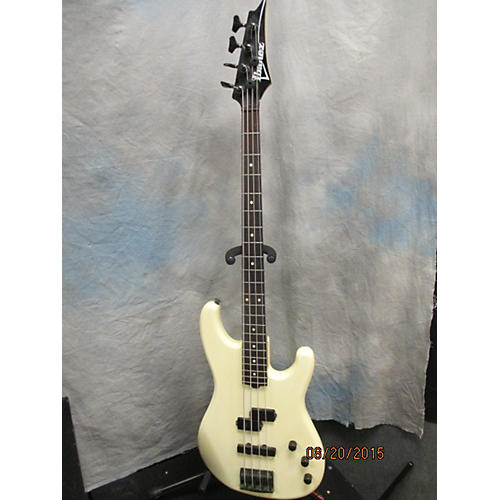 Ibanez PJ White Electric Bass Guitar