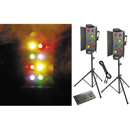 Chauvet PK1-BANK Rock-N' Lite Stage Lighting Package