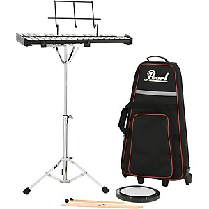 Pearl PK910C Educational Bell Kit with Rolling Cart by Pearl