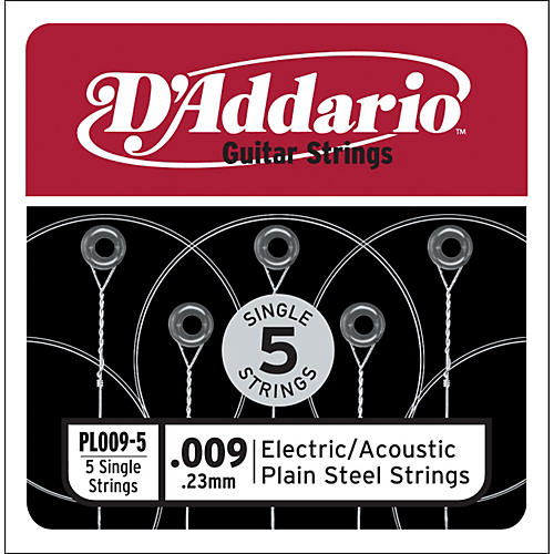 D'Addario PL009-5 Strings
