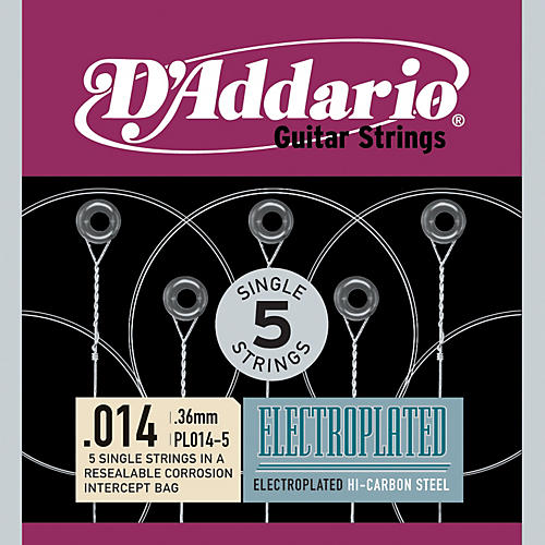 D'Addario PL014-5 Strings
