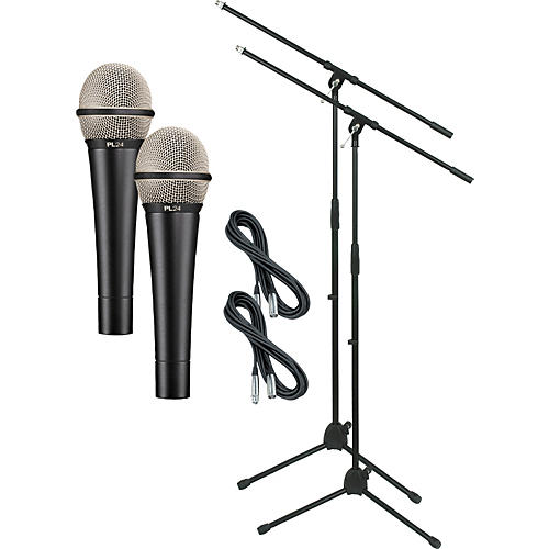 Electro-Voice PL24 with Cable and Stand 2 Pack-thumbnail