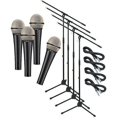 Electro-Voice PL24 with Cable and Stand 4 Pack-thumbnail