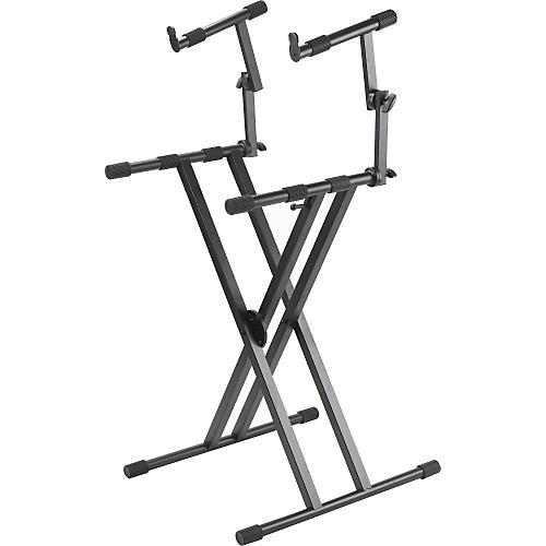 Proline PL402 2-Tier Double X-Braced Keyboard Stand-thumbnail