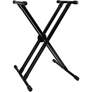 PL4KD Knock Down Doublebraced Keyboard Stand