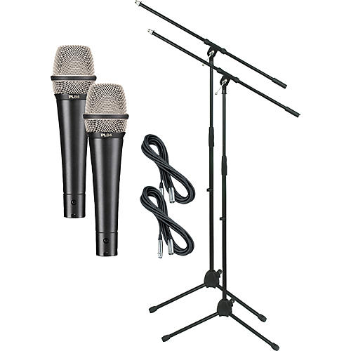 Electro-Voice PL84 with Cable and Stand 2 Pack-thumbnail