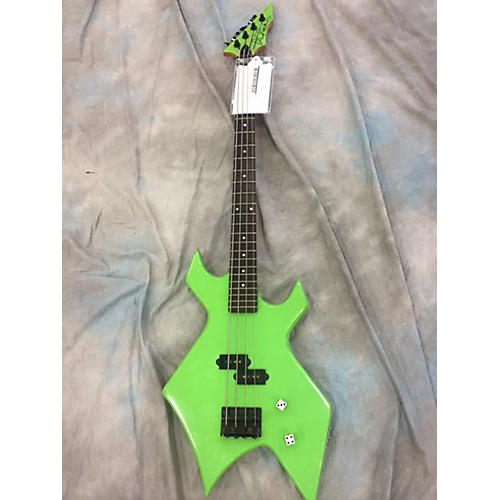 B.C. Rich PLATINUM SERIES WARLOCK Electric Bass Guitar-thumbnail